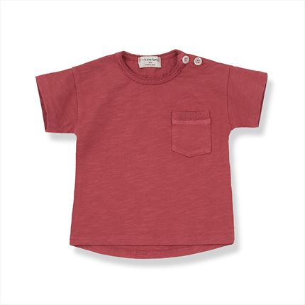T-shirt 1 + in the family Vico red