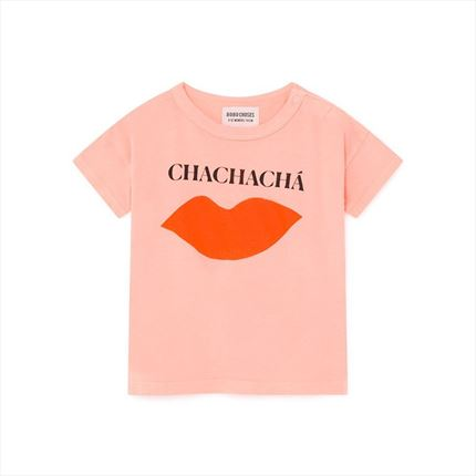 Baby T-shirt Bobo Choses Kiss pink