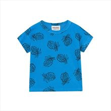 Camiseta Bebé Bobo Choses Pineapple azul