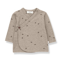 Baby T-shirt  1+ in the family Peguera beige