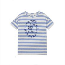 Camiseta Bobo Choses Stripes azul