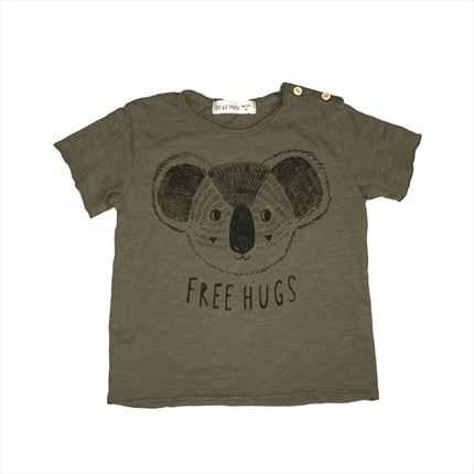 Camiseta Dear Mini Koala kaki