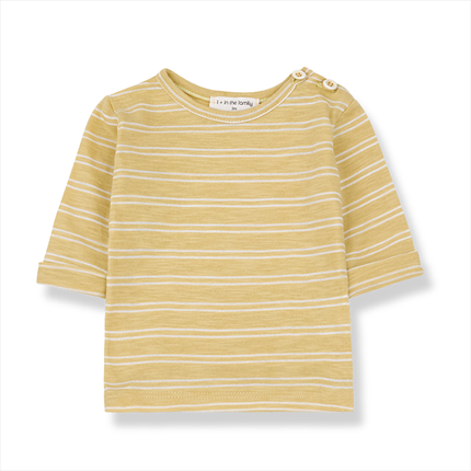 Harold striped long sleeve shirt 1+ in the family yellow