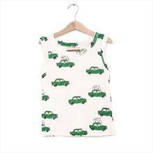 Camiseta Nadadelazos Holiday Car blanca