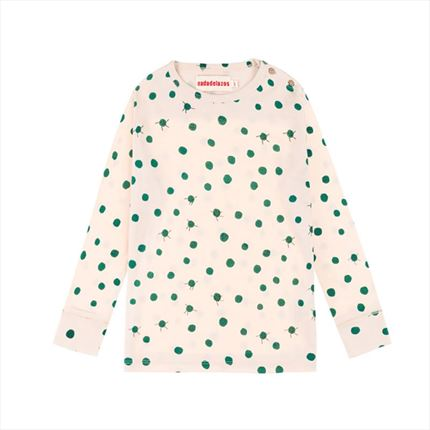 T-shirt Nadadelazos Green specks