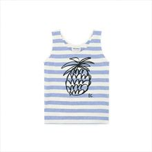 Camiseta Tirantes Bobo Choses Stripes azul