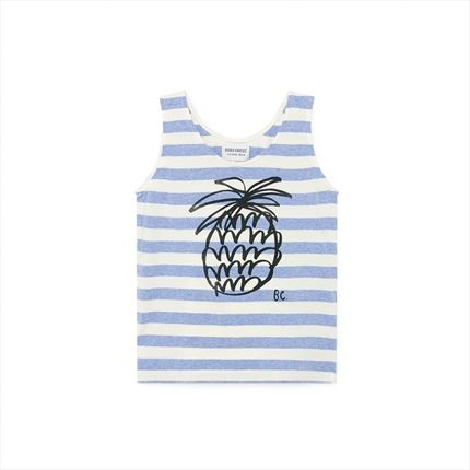 Tank Top Bobo Choses Stripes blue