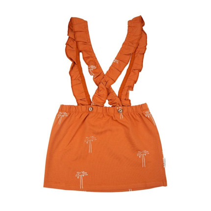 Skirt Litte Indians Palmeras Orange Strap