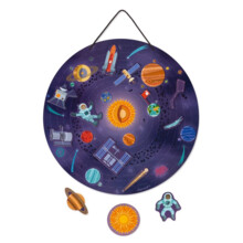 Solar System Map Magnetic Janod