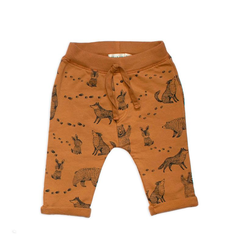 Toffee Mini Animal Trousers: Detail1