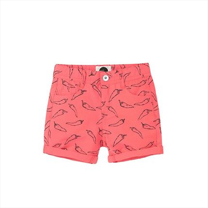 Sproet & Sprout Shorts Hot Peppers red