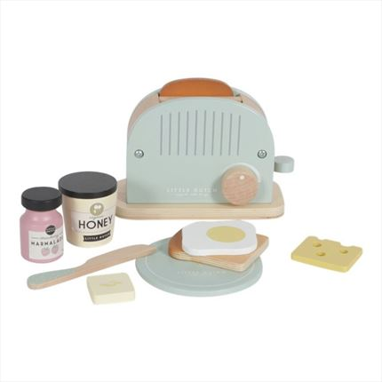 Set de Tostadora Little Dutch madera
