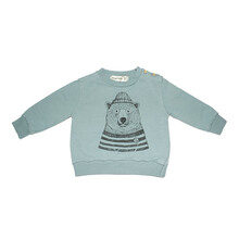 Sudadera Oso Polar Dear Mini Azul