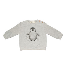 Sudadera Pinguino Dear Mini Gris