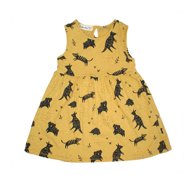 12036c68468 Dress Dear Mini Australia mustard
