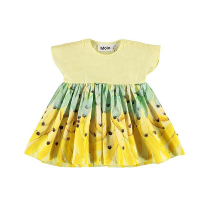 Vestido Molo Kids Channi amarillo